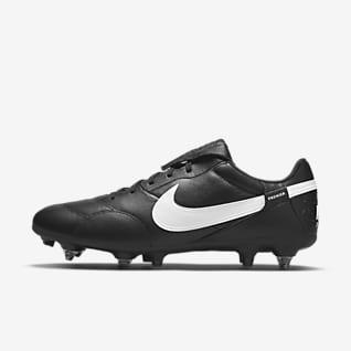 The Nike Premier 3 SG-PRO Anti-Clog Traction Fußballschuh für weichen Rasen