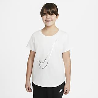 Nike Sportswear Big Kids' (Girls') T-Shirt (Extended Size)