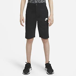 Nike Sportswear Shorts cargo para niño talla grande