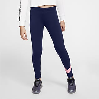 Nike Sportswear Favorites เลกกิ้งเด็กโต (หญิง)