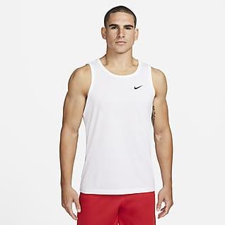 Nike Dri-FIT Haut de training sans manches pour Homme