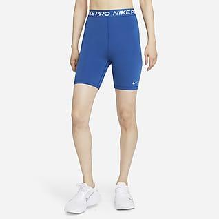 Nike Pro 365 Damskie spodenki z wysokim stanem 18 cm