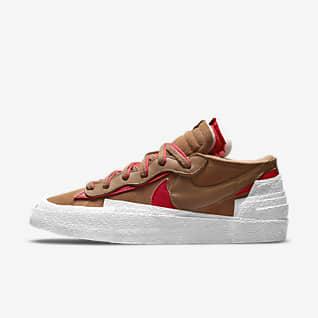 Nike x sacai Blazer Low Shoes