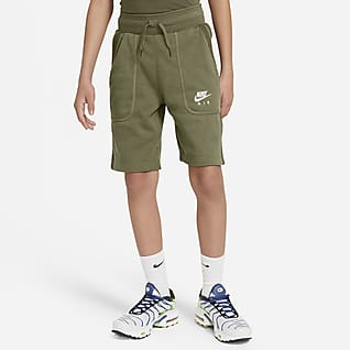 Nike Air Frottéshorts til store børn (drenge)