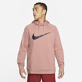 Nike Dri-FIT Pullover-træningshættetrøje til mænd