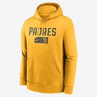 Nike Lettering Club (MLB San Diego Padres) Men's Pullover Hoodie