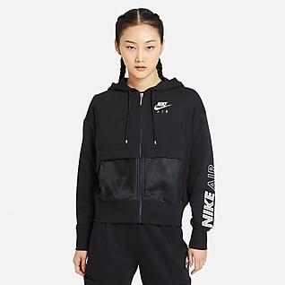 Nike Air 女款全長式拉鍊上衣