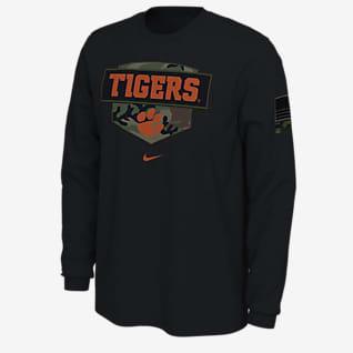 Nike College (Clemson) Men's Long-Sleeve T-Shirt