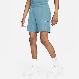 NikeCourt Dri-FIT Advantage Tennisshorts til herre (18 cm)