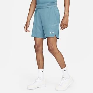 NikeCourt Dri-FIT Advantage Tennisshorts voor heren (18 cm)