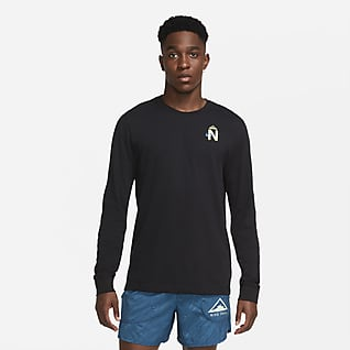 Nike Dri-FIT Trail Men's Long-Sleeve Trail Running T-Shirt