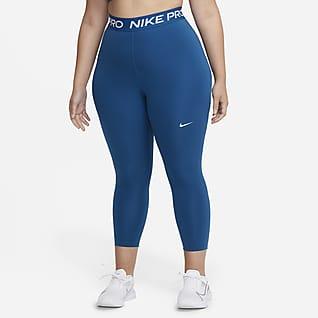 Nike Pro Women's Mid-Rise Crop Leggings (Plus Size)