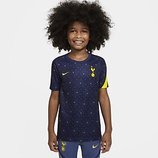 Tottenham Hotspur Kortermet fotballtrøye for oppvarming til store barn