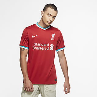 Liverpool FC 2020/21 Stadium Home Fotbollströja för män