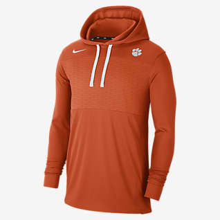 Nike College (Clemson) Men's Lightweight Pullover Hoodie