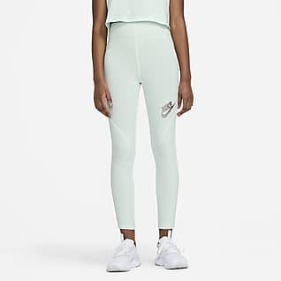 Nike Sportswear Favorites Leggings mit hohem Taillenbund für ältere Kinder (Mädchen)