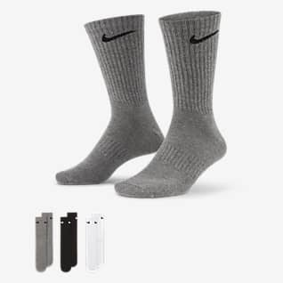 Nike Everyday Lightweight Středně vysoké tréninkové ponožky (3 páry)