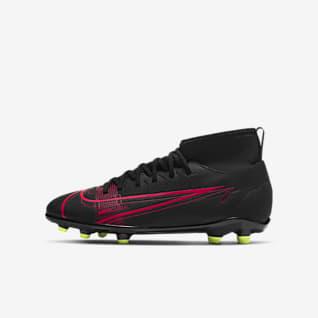 Nike Jr. Mercurial Superfly 8 Club MG Korki piłkarskie na różne typy nawierzchni dla małych/dużych dzieci