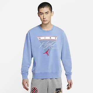 Jordan Flight 男子印花圆领运动衫