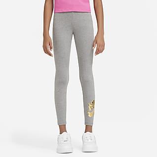 Nike Sportswear Favorites Leggings estampados para niña talla grande