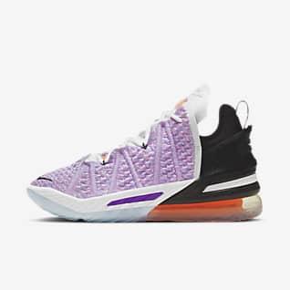 LeBron 18 'Blue Multi' Basketball Shoe