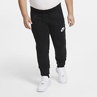 Nike Sportswear Club Fleece Běžecké kalhoty pro větší děti (chlapce) (rozšířená velikost)