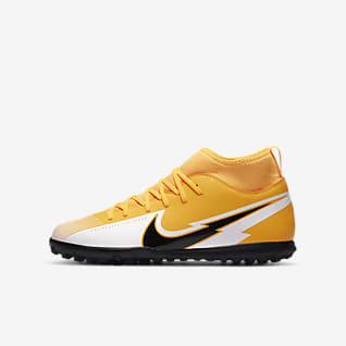Nike Jr. Mercurial Superfly 7 Club TF Chaussure de football pour surface synthétique pour Jeune enfant/Enfant plus âgé