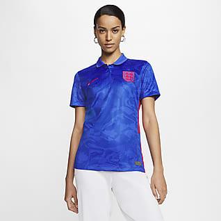 England 2020 Stadium Away Camiseta de fútbol para mujer