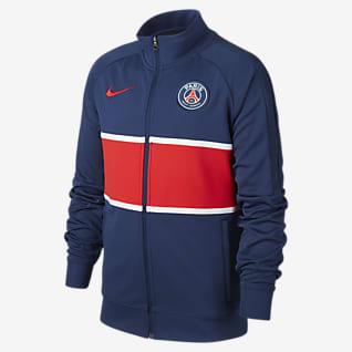 Paris Saint-Germain Dresowa bluza piłkarska dla dużych dzieci