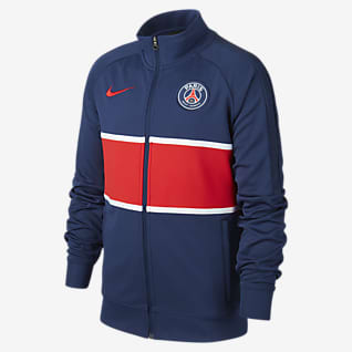 Paris Saint-Germain Fodboldtræningsjakke til store børn