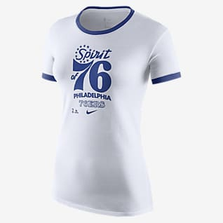 Philadelphia 76ers Mantra Women's Nike Dri-FIT NBA T-Shirt