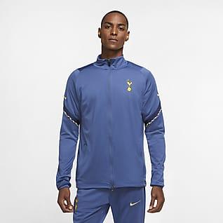 Tottenham Hotspur Strike Strick-Fußball-Track-Jacket für Herren