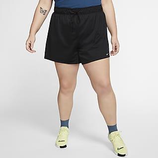 Nike Dri-FIT 女款訓練短褲 (加大尺寸)