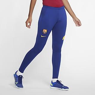 FC Barcelona Academy Pro Pantaloni da calcio in maglia - Donna