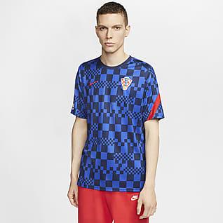 克罗地亚队 男子短袖足球上衣