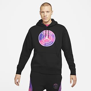 Paris Saint-Germain Fleece Erkek Kapüşonlu Sweatshirt'ü