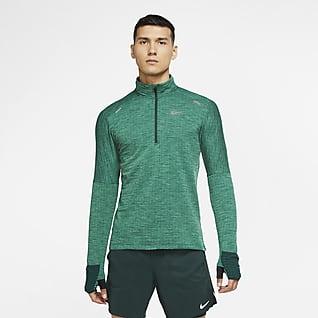 Nike Sphere Haut de running à demi-zip pour Homme
