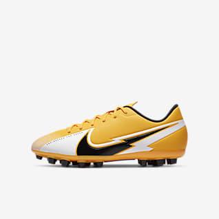 Nike Jr. Mercurial Vapor 13 Academy AG Chaussure de football à crampons pour terrain synthétique pour Enfant