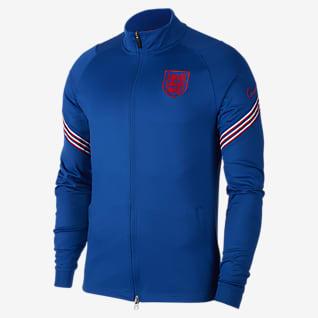 England Strike Men's Football Tracksuit Jacket
