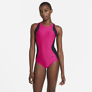 Nike HydraLock Sculpt Women's Mesh Racerback 1-Piece Swimsuit