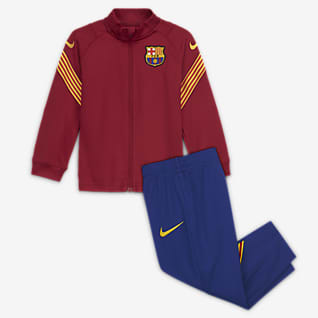 FC Barcelona Strike Kötött futballtréningruha babáknak