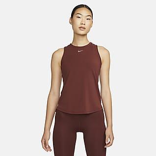Nike Dri-FIT One Luxe เสื้อกล้ามทรงมาตรฐานผู้หญิง