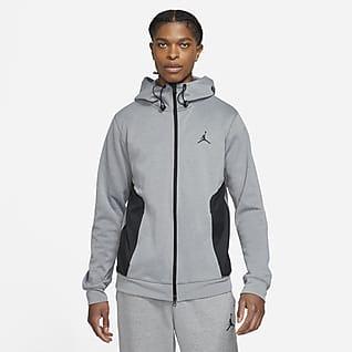 Jordan Dri-FIT Air Felpa Statement in fleece con cappuccio e zip a tutta lunghezza - Uomo