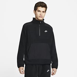 Nike Sportswear Style Essentials+ Maglia in fleece con zip a metà lunghezza - Uomo