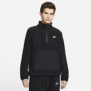 Nike Sportswear Style Essentials+ Fleece-Oberteil mit Halbreißverschluss für Herren