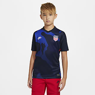 U.S. 2020 Stadium Away Big Kids' Soccer Jersey