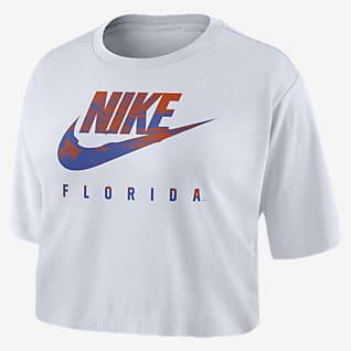 Nike College (Florida) Women's Cropped T-Shirt
