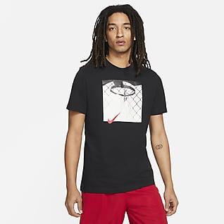 Nike Photo เสื้อยืดบาสเก็ตบอลผู้ชาย