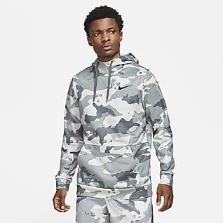 Nike Therma-FIT Sudadera con capucha sin cierre de entrenamiento de camuflado para hombre