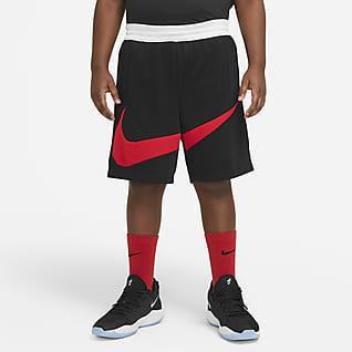 Nike Elite Basketbalshorts met graphic voor jongens (grotere maten)